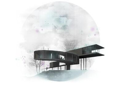 projekt domu w lesie suma architekt 04