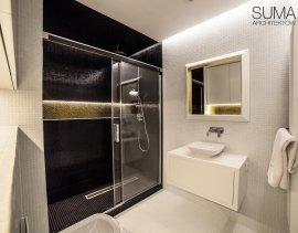projektowanie wnętrz łazienka glamour