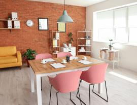 Miejsce spotkań w nowoczesnym biurze