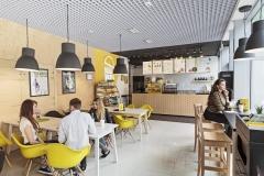 projekt wnętrz makaroniarni projekt restauracji