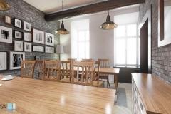STR projekt wnetrz restauracji krakow 10 lq