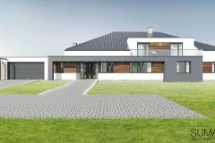 projekt domu Krakow suma architekci 01