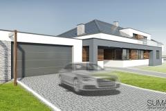 projekt domu Krakow suma architekci 02