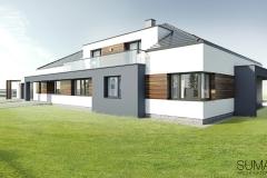 projekt domu Krakow suma architekci 04
