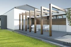 projekt domu Krakow suma architekci 08