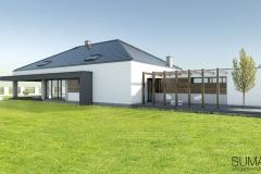 projekt domu Krakow suma architekci 09