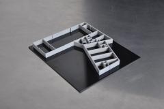 wydruk 3d modelu projektu budynku magazynowo biurowego